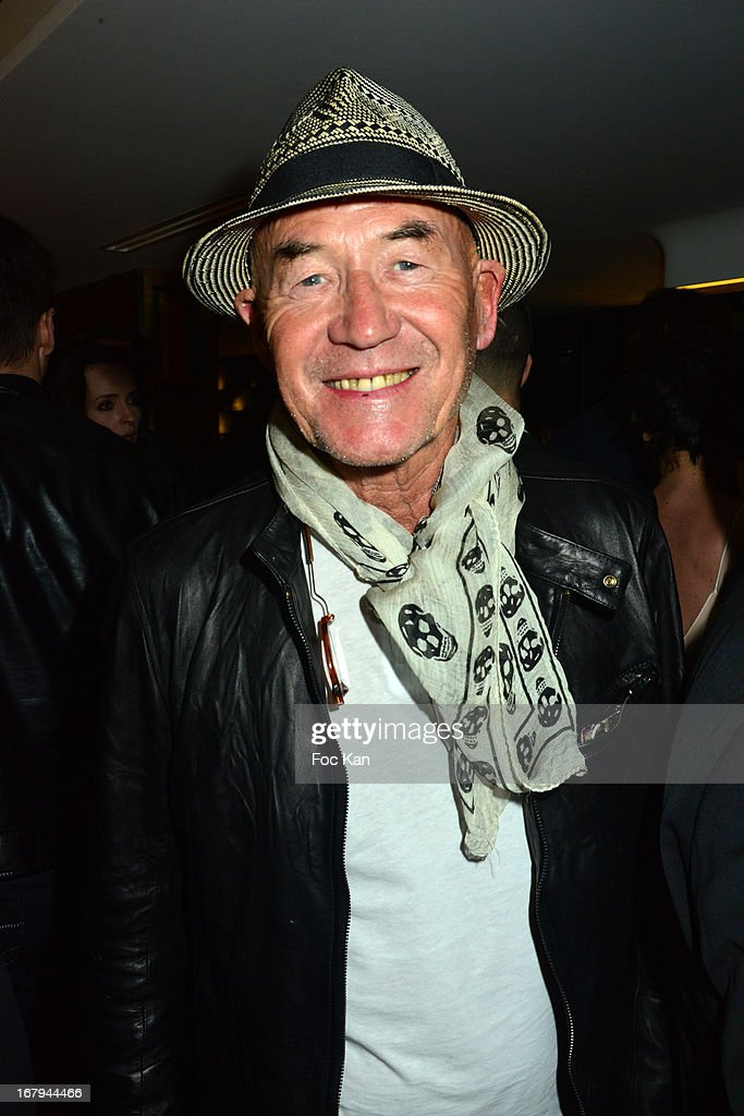 Gilles Lhote attends the Sam Bobino DJ Set Party At The Hotel O on April 25, 2013 in Paris, France.