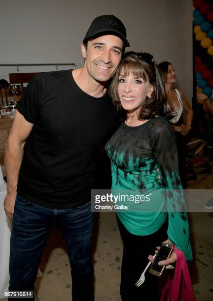 Gilles Marini and Kate Linder at The Elizabeth Glaser Pediatric AIDS Foundation's 28th annual 'A Time For Heroes' family festival at Smashbox Studios...