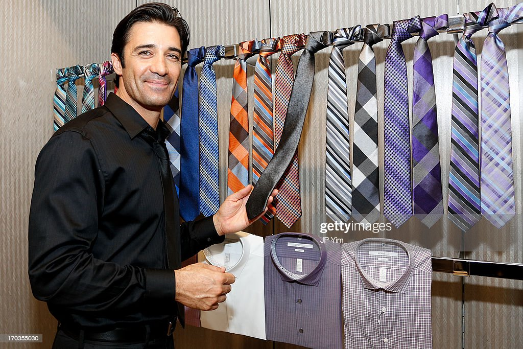 Ê <a gi-track='captionPersonalityLinkClicked' href=/galleries/search?phrase=Gilles+Marini&family=editorial&specificpeople=5360860 ng-click='$event.stopPropagation()'>Gilles Marini</a> attends Perry Ellis International celebration of the opening of its new NYC Headquarters at The Hippodrome Building on June 11, 2013 in New York City.Ê