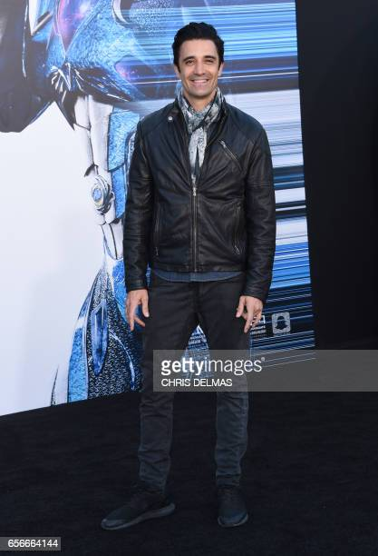 Gilles Marini attends the red carpet arrivals for the world premiere of Power Rangers at the Village theatre in Hollywood California on March 22 2017...