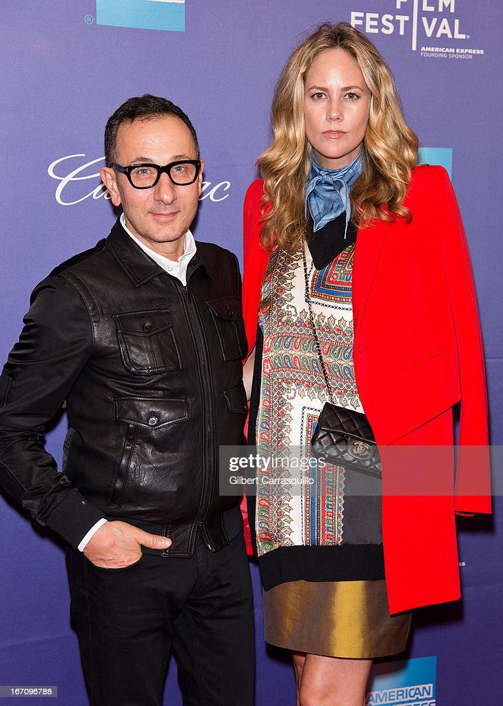 <a gi-track='captionPersonalityLinkClicked' href=/galleries/search?phrase=Gilles+Mendel&family=editorial&specificpeople=638035 ng-click='$event.stopPropagation()'>Gilles Mendel</a> and Kylie Case attend the screening of 'In God We Trust' during the 2013 Tribeca Film Festival at SVA Theater on April 19, 2013 in New York City.