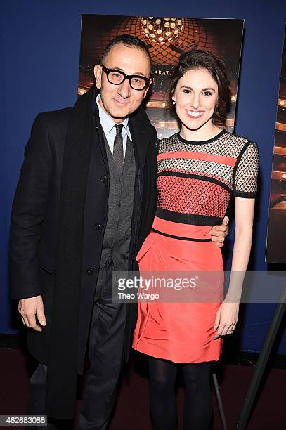 Gilles Mendel and Tiler Peck attend 'Ballet 442' New York Premiere at Florence Gould Hall on February 2 2015 in New York City