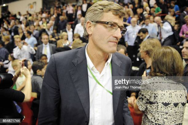 Gilles MORETTON Asvel / Buducnost Euroligue 2010/2011 Astrobale Villeurbanne