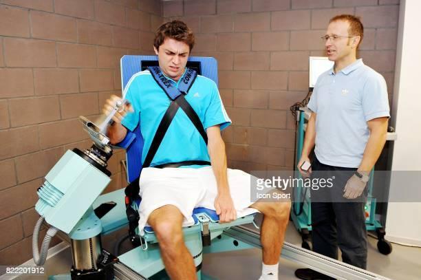 Gilles SIMON et Christophe CECCALDI Preparation Physique en vue de la Saison 2009 Roland Garros