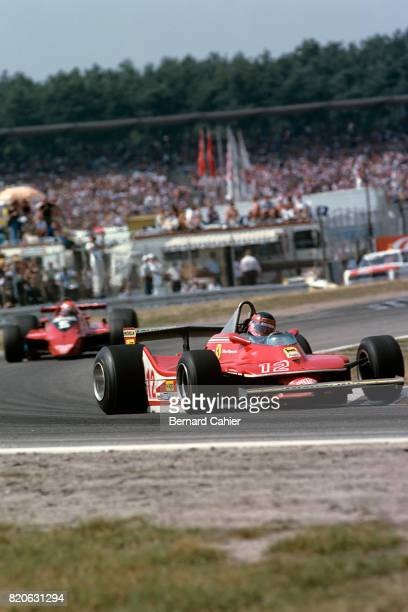 Gilles Villeneuve Ferrari 312T4 Grand Prix of Germany Hockenheim 29 July 1979
