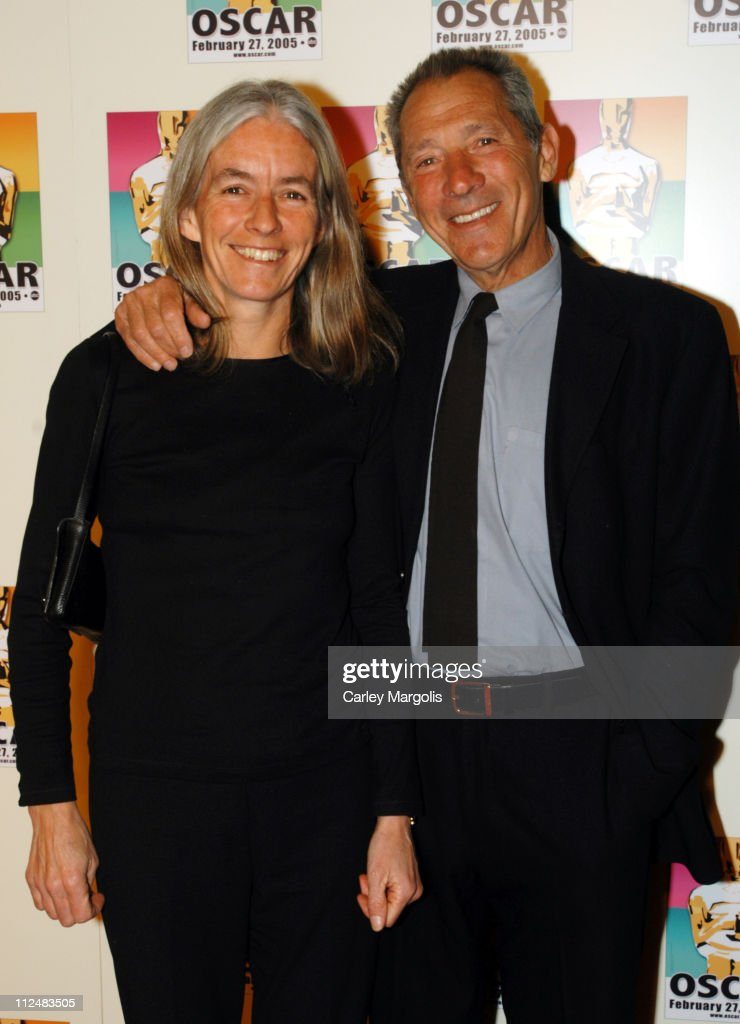 Gillian Adams and <a gi-track='captionPersonalityLinkClicked' href=/galleries/search?phrase=Israel+Horovitz&family=editorial&specificpeople=655809 ng-click='$event.stopPropagation()'>Israel Horovitz</a> during Official 2005 Academy of Motion Picture Arts & Sciences Oscar Night Party at Gabriel's at Gabriel's Restaurant and Bar in New York City, New York, United States.