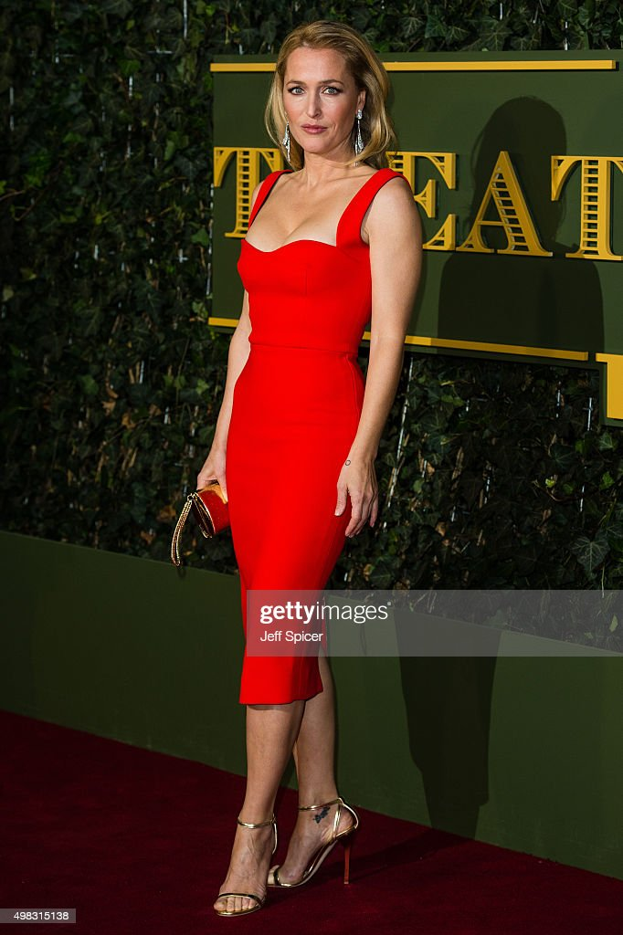 <a gi-track='captionPersonalityLinkClicked' href=/galleries/search?phrase=Gillian+Anderson&family=editorial&specificpeople=202894 ng-click='$event.stopPropagation()'>Gillian Anderson</a> attends the Evening Standard Theatre Awards at The Old Vic Theatre on November 22, 2015 in London, England.