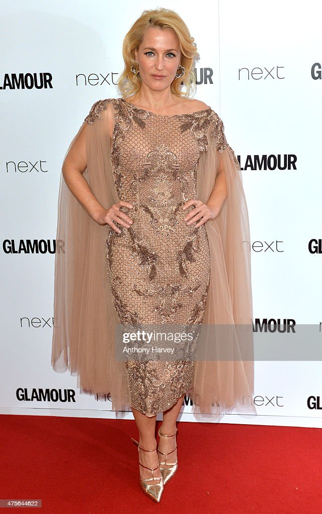 Gillian Anderson attends the Glamour Women Of The Year Awards at Berkeley Square Gardens on June 2, 2015 in London, England.