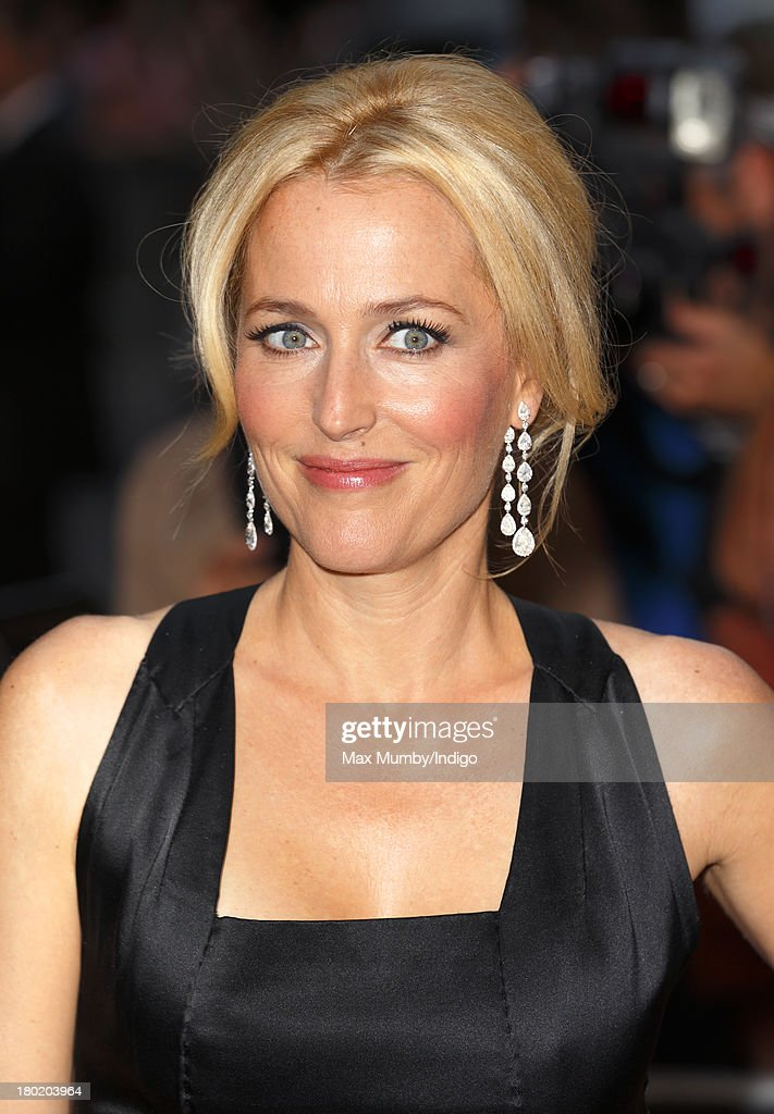Gillian Anderson attends the GQ Men of the Year awards at The Royal Opera House on September 3, 2013 in London, England.