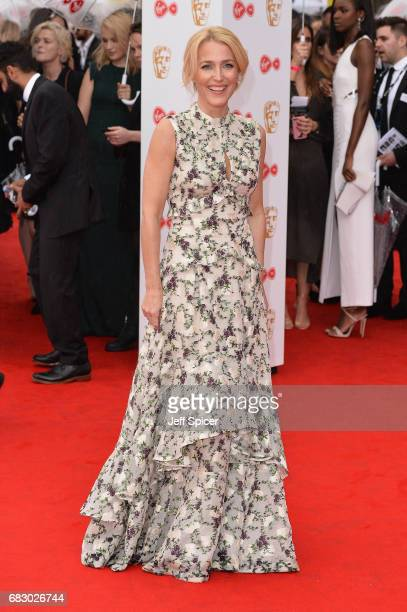 Gillian Anderson attends the Virgin TV BAFTA Television Awards at The Royal Festival Hall on May 14 2017 in London England