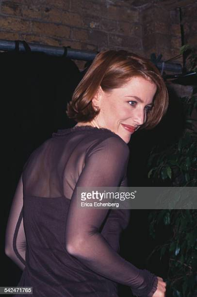 Gillian Anderson Virgin Press Conference London United Kingdom 1997