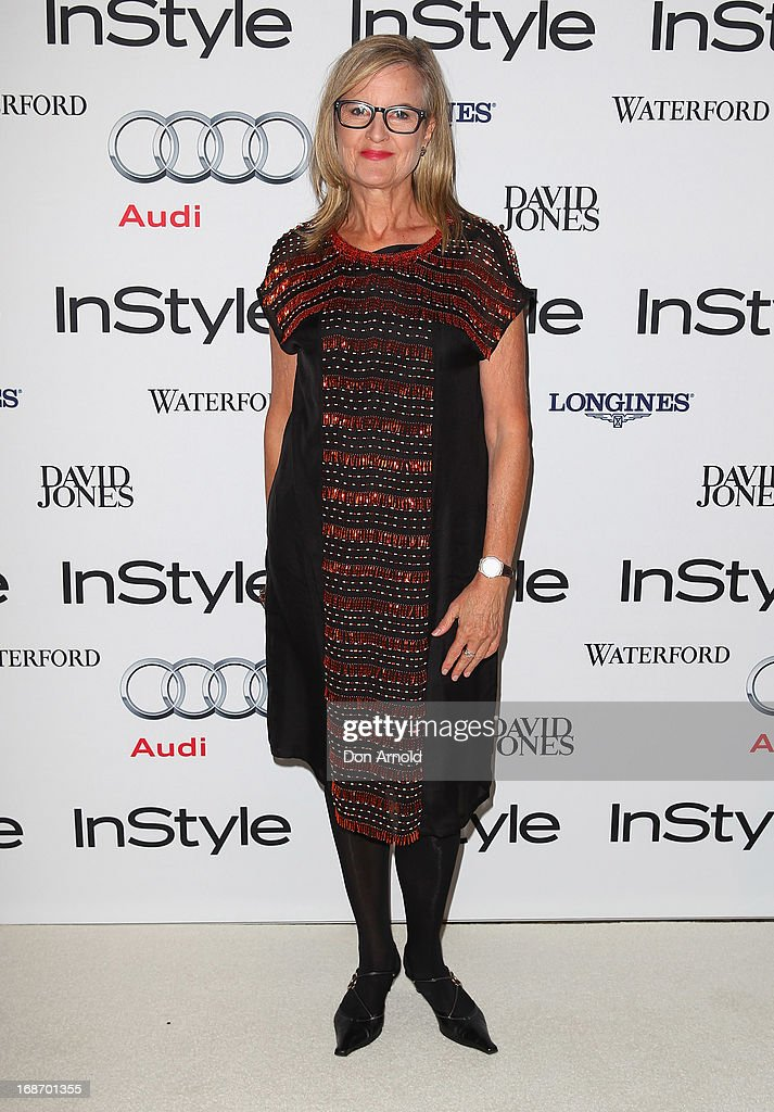 Gillian Armstrong arrives at the 2013 Instyle and Audi Women of Style Awards at Carriageworks on May 14, 2013 in Sydney, Australia.