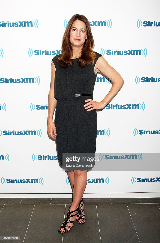 Gillian Flynn visits SiriusXM Studios on September 30, 2014 in New York City.
