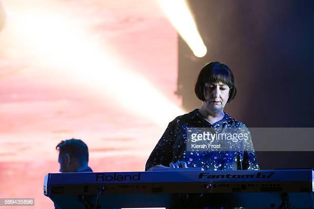 Gillian Gilbert of New Order performs at Electric Picnic at Stradbally Hall Estate on September 4 2016 in Dublin Ireland