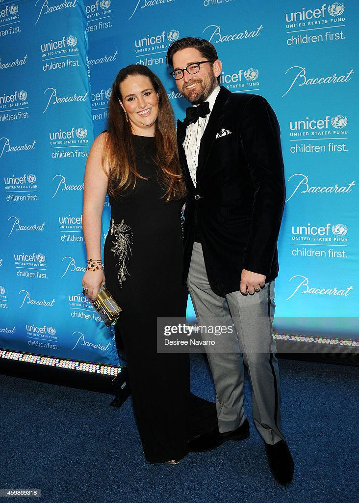 Gillian Hearst-Simonds (L) and Christian Simonds attend the 10th Annual Unicef Snowflake Ball at Cipriani Wall Street on December 2, 2014 in New York City.