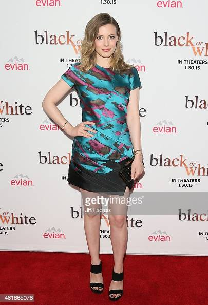 Gillian Jacobs attend the Los Angeles premiere of 'Black or White' held at Regal Cinemas on January 20 2015 in Los Angeles California