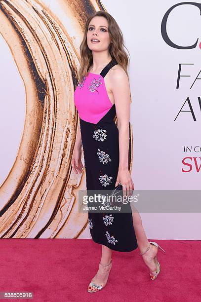 Gillian Jacobs attends the 2016 CFDA Fashion Awards at the Hammerstein Ballroom on June 6 2016 in New York City