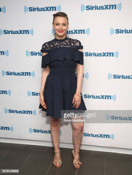 Gillian Jacobs visits at SiriusXM Studios on July 27 2017 in New York City