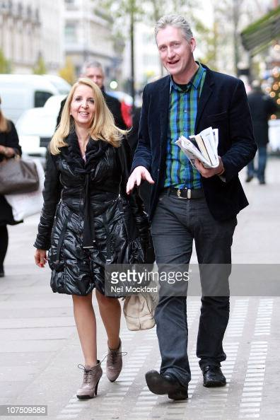 Gillian McKeith and Lembit Opik sighted together after having brunch at Villandry restaurant on December 10 2010 in London England