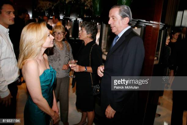 Gillian Miniter and Henri Barguirdjian attend Madison Avenue PLATINUM JEWELS IN BLOOM Benefitting CENTRAL PARK CONSERVANCY at 32 Jewelry Boutiques on...