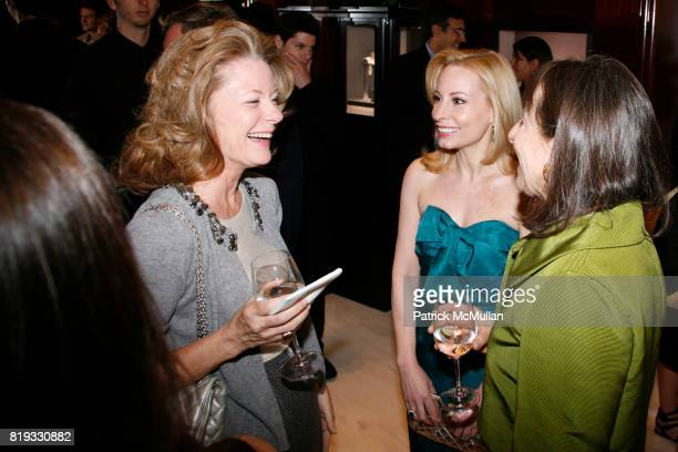 Gillian Miniter and Nancy Paduano attend Madison Avenue PLATINUM JEWELS IN BLOOM Benefitting CENTRAL PARK CONSERVANCY at 32 Jewelry Boutiques on...