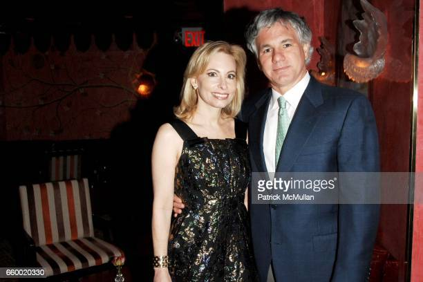 Gillian Miniter and Sylvester Miniter attend Lighthouse International POSH Preview Benefit Dinner at Doubles Club on May 12 2009 in New York City