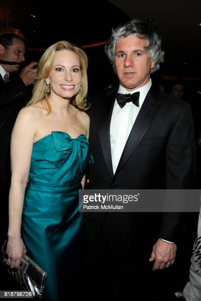Gillian Miniter and Sylvester Miniter attend NEW YORKERS FOR CHILDREN Spring Dinner Dance Presented by AKRIS at The Mandarin Oriental on April 8 2010...