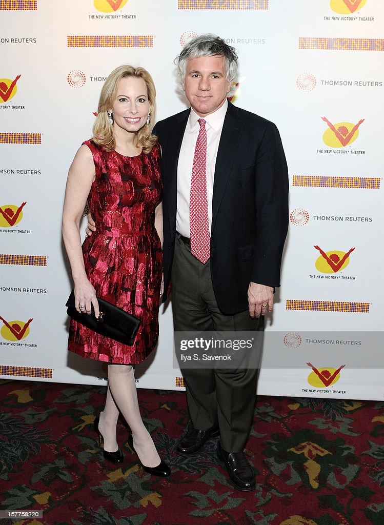 Gillian Miniter and Sylvester Miniter attends 2012 New 42nd Street Gala at The New Victory Theater on December 5, 2012 in New York City.