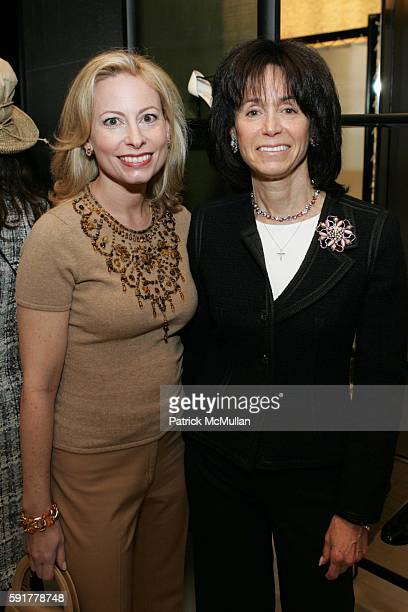 Gillian Miniter and Wendy Carduner attend The Camellia Luncheon Sponsored by Chanel to benefit The New York Botanical Garden at Chanel on October 25...