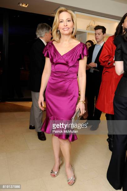 Gillian Miniter attends Akris Hosts New Yorkers For Children Spring Dinner Dance KickOff at Akris Boutique on March 16 2010 in New York City