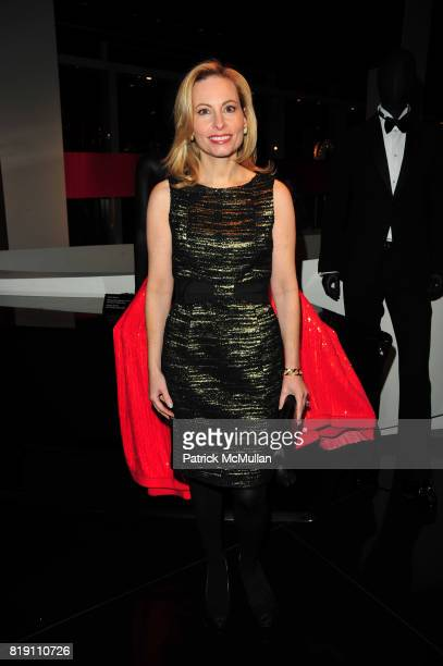 Gillian Miniter attends ARMANI Red Carpet Retrospective hosted by Amy Fine Collins in partnership with Vanity Fair at Armani on March 11 2010 in New...