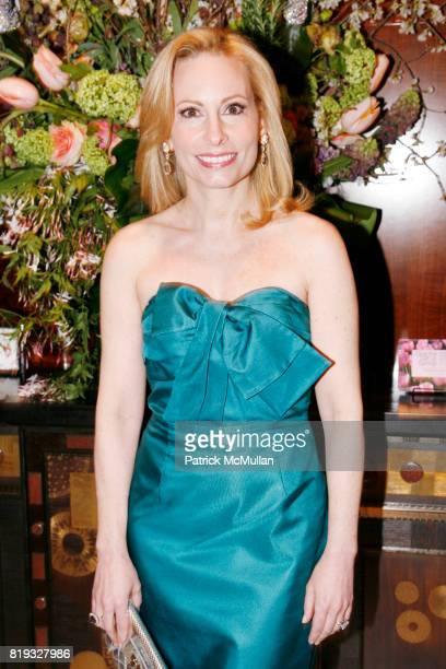 Gillian Miniter attends Madison Avenue PLATINUM JEWELS IN BLOOM Benefitting CENTRAL PARK CONSERVANCY at 32 Jewelry Boutiques on April 8 2010 in New...