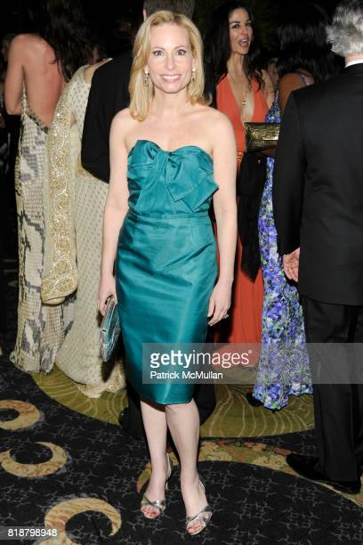 Gillian Miniter attends NEW YORKERS FOR CHILDREN Spring Dinner Dance Presented by AKRIS at The Mandarin Oriental on April 8 2010 in New York City