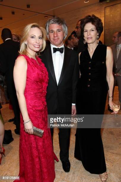 Gillian Miniter Sylvester Miniter and Coco Kopelman attend THE SCHOOL OF AMERICAN BALLET Winter Ball 2010 at David H Koch Theater on March 1 2010 in...