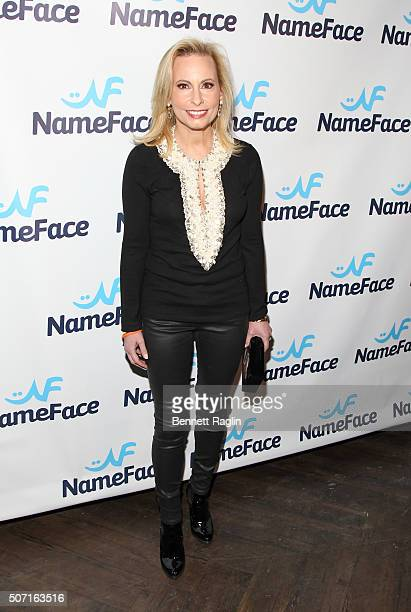 Gillian Minitor attends the NameFacecom launch party at No 8 on January 27 2016 in New York City