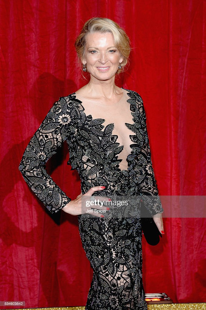 Gillian Taylforth attends the British Soap Awards 2016 at Hackney Empire on May 28, 2016 in London, England.