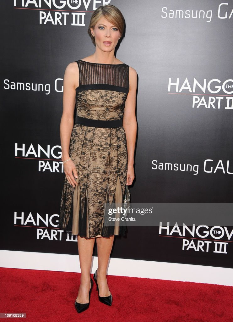 Gillian Vigman arrives at the 'The Hangover III' - Los Angeles Premiere at Mann's Village Theatre on May 20, 2013 in Westwood, California.