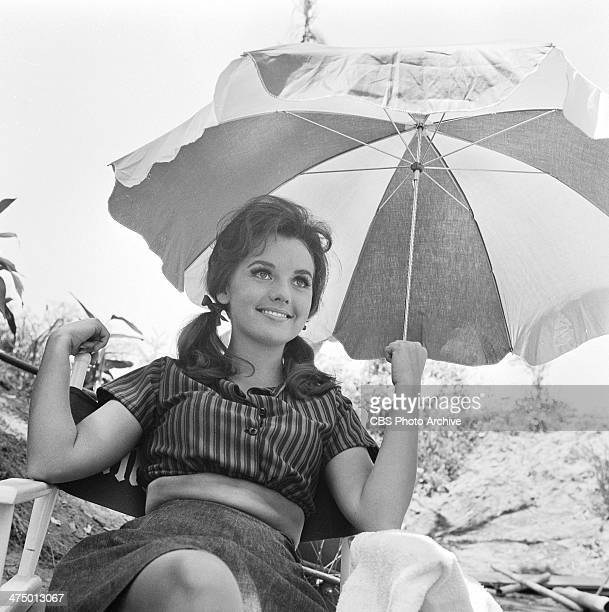 Gilligan's Island cast member Dawn Wells prepares for episode 'Two on a Raft' Image dated July 21 1964