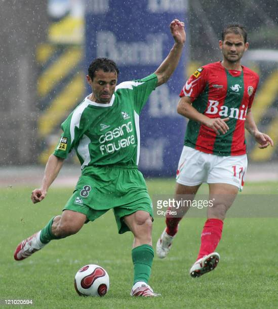 Gilmar during a Portuguese Premier League match between Maritimo and Naval in Funchal Portugal on April 7 2007