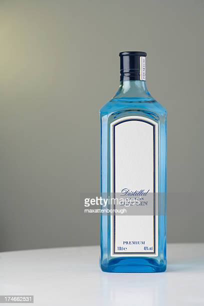 Gin Bottle With Space for Text