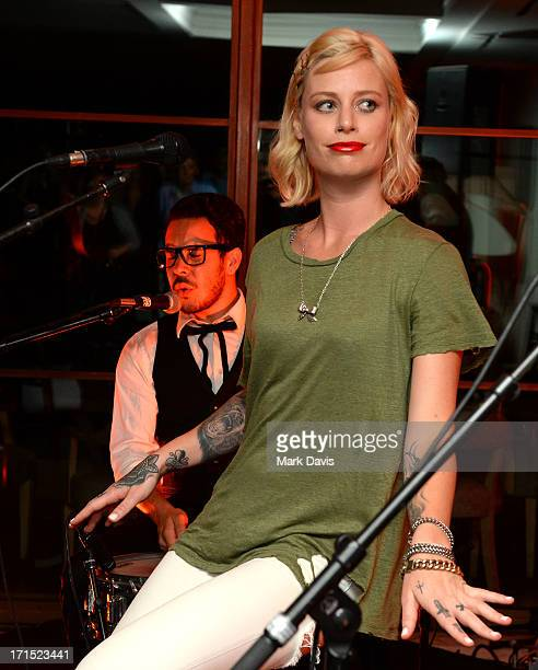 Gin Wigmore performs at the Showtime Premiere of the New Drama Series 'Ray Donovan' presented by Time Warner Cable on Tuesday June 2013 in Los Angeles
