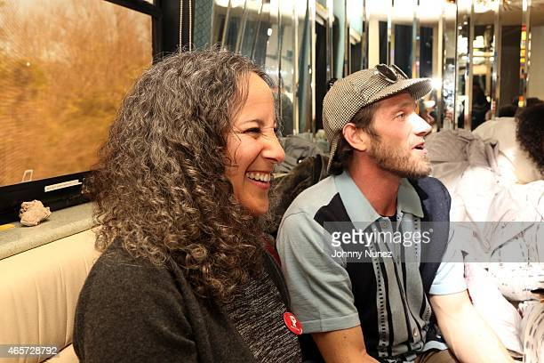 Gina Belafonte and Ben Taylor attend the Centric Celebrates Selma event on March 8 2015 in Selma Alabama