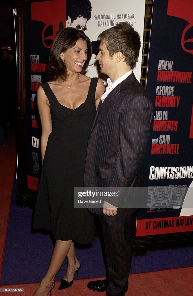 Gina Bellman And Sam Rockwell, Confessions Of A Dangerous Mind The Movie That Marks The Directorial Debut.premiered In London Last Night.and The Party Was At Elyceum At The Cafe Royal