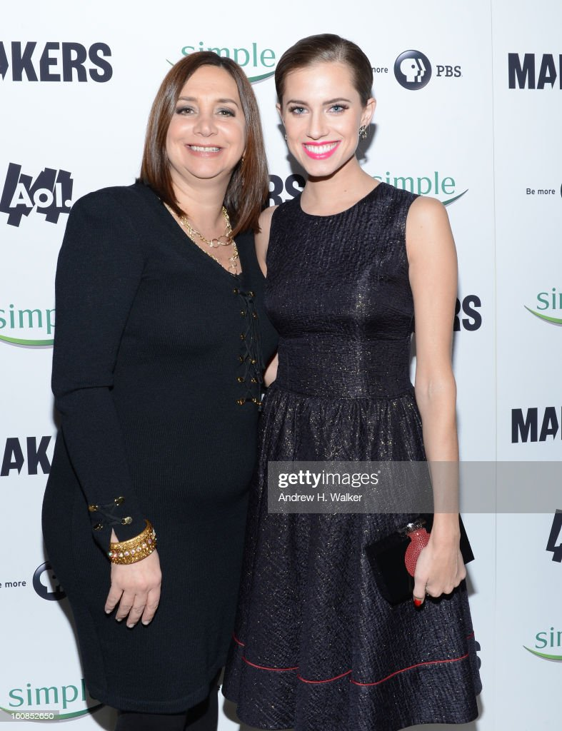 Gina Boswell, and <a gi-track='captionPersonalityLinkClicked' href=/galleries/search?phrase=Allison+Williams+-+Actress&family=editorial&specificpeople=594198 ng-click='$event.stopPropagation()'>Allison Williams</a> attend the red carpet premiere of