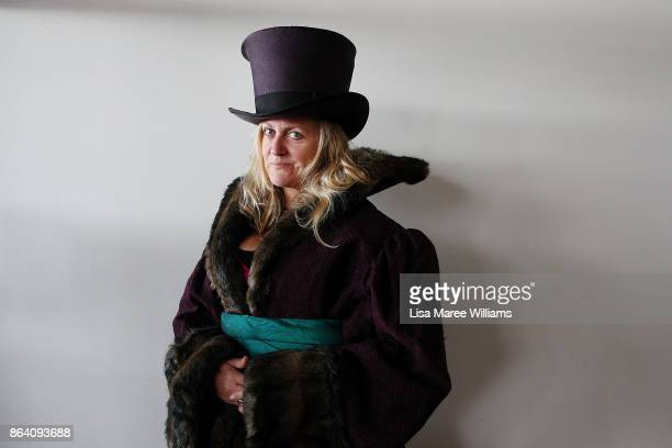 Gina Bowman attends a costume and clothing sale at The Opera Centre on October 21 2017 in Sydney Australia Opera Australia is making way for new...