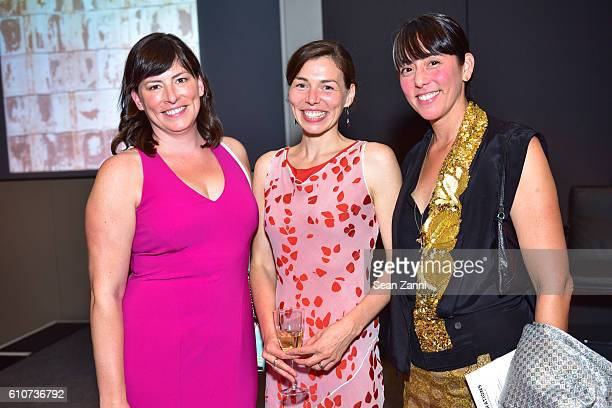 Gina Broze Jessica Broze and Miko McGinty attend Abstracted Black Tie Dinner Hosted by Pamela Joyner Fred Giuffrida and the Ogden Museum of Southern...