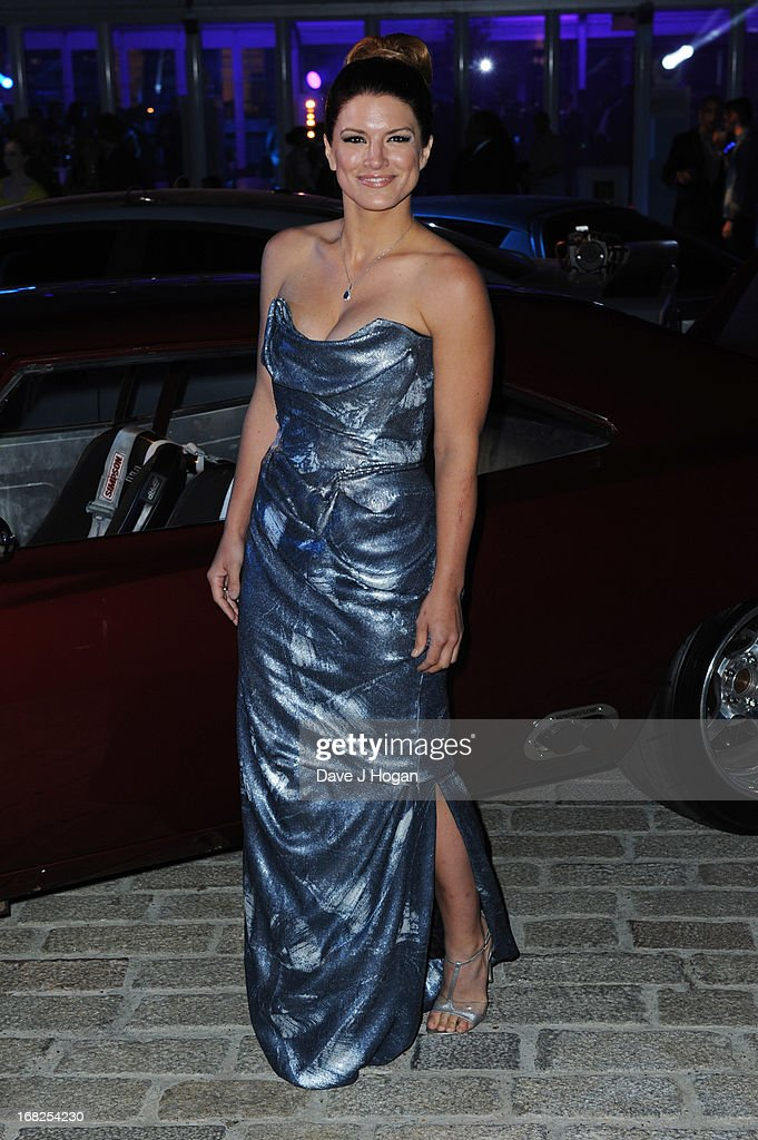Gina Carano attends the world premiere after party of 'Fast And Furious 6' at Somerset House on May 7, 2013 in London, England.