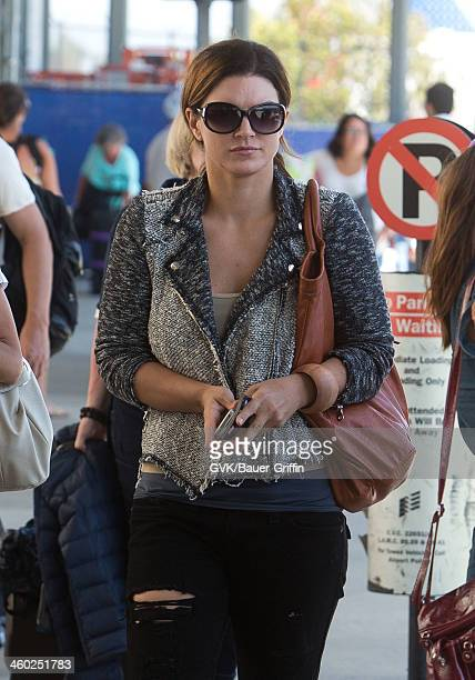 Gina Carano is seen on May 13 2013 in Los Angeles California