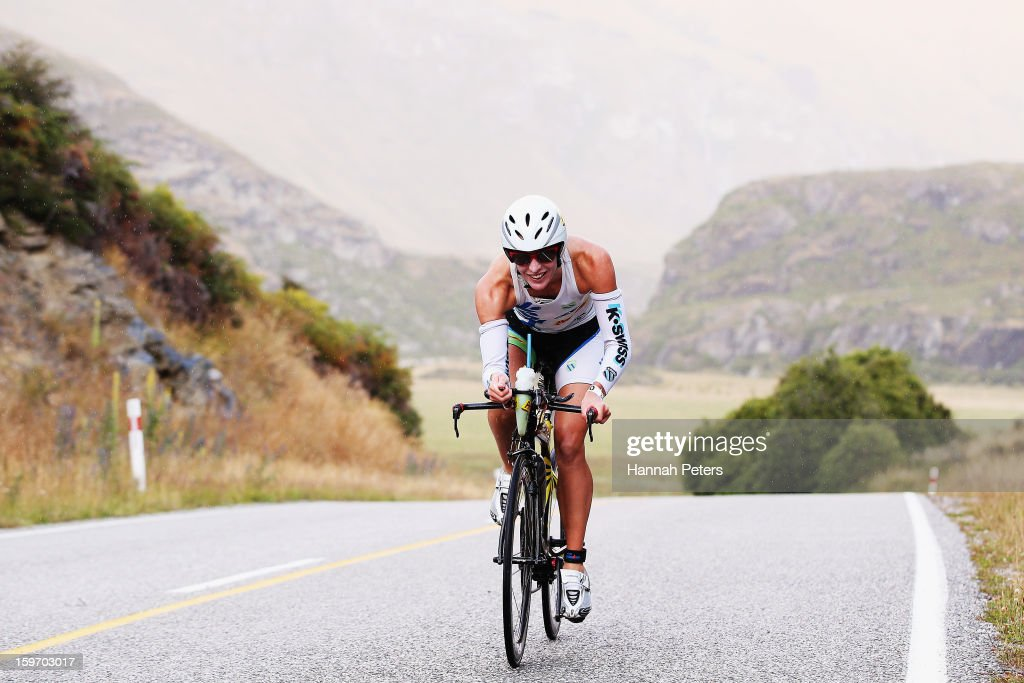 Gina Crawford Christchurch competes during Challenge Wanaka on January 19, 2013 in Wanaka, New Zealand.