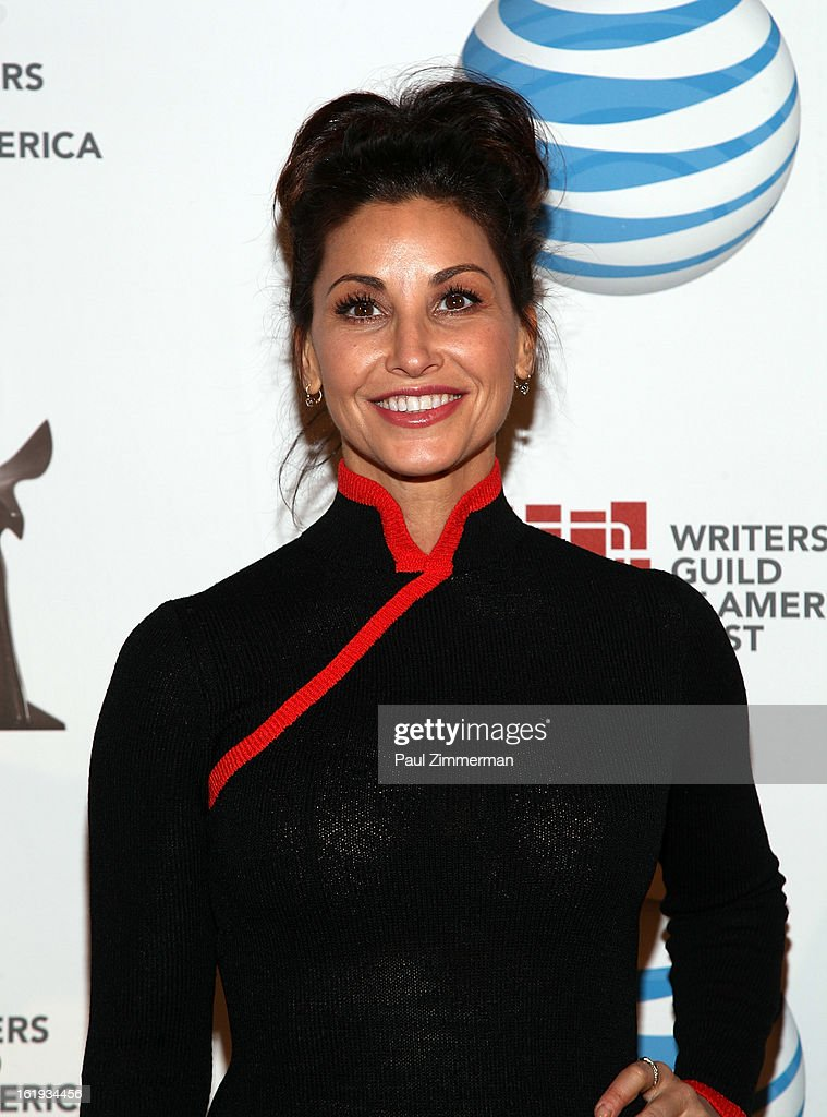 <a gi-track='captionPersonalityLinkClicked' href=/galleries/search?phrase=Gina+Gershon&family=editorial&specificpeople=203099 ng-click='$event.stopPropagation()'>Gina Gershon</a> attends 65th Annual Writers Guild East Coast Awards at B.B. King Blues Club & Grill on February 17, 2013 in New York City.
